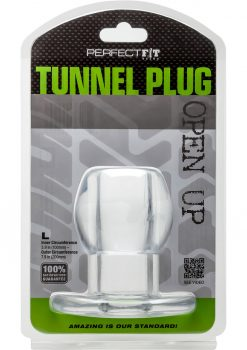 Perfect Fit Tunnel Plug LG - Clear