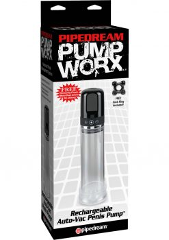 Pump Worx Rechargeable Auto Vac Penis Pump 7.5 Inches