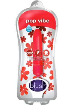 Vive Pop Vibe Mini Vibrator Waterproof Red 3 Inch