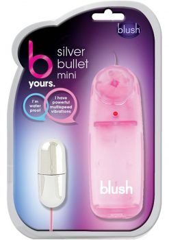 B Yours Wired Remote Control Silver Bullet Mini Waterproof Pink