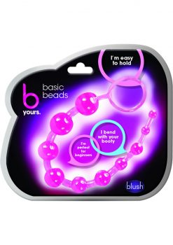 B Yours Basic Beads Pink 12.75 Inch