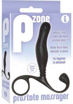 The 9 P Zone Prostate Massager Black