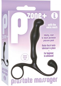 The 9 P Zone+ Prostate Massager Black