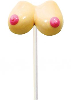 Boobie Pops Lollipop Strawberry