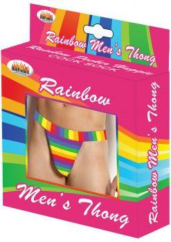 Rainbow Men`s Thong