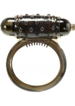 Linx Classic Smoke Vibrating Cock Ring Waterproof