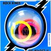 Rock Rings Roadies Silicone Cockrings Xtra Large Assorted Neon Colors 5 Each Per Pack
