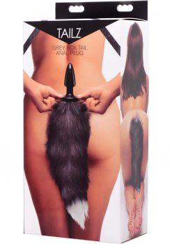 Frisky Foxy Faux Fox Tail Anal Plug