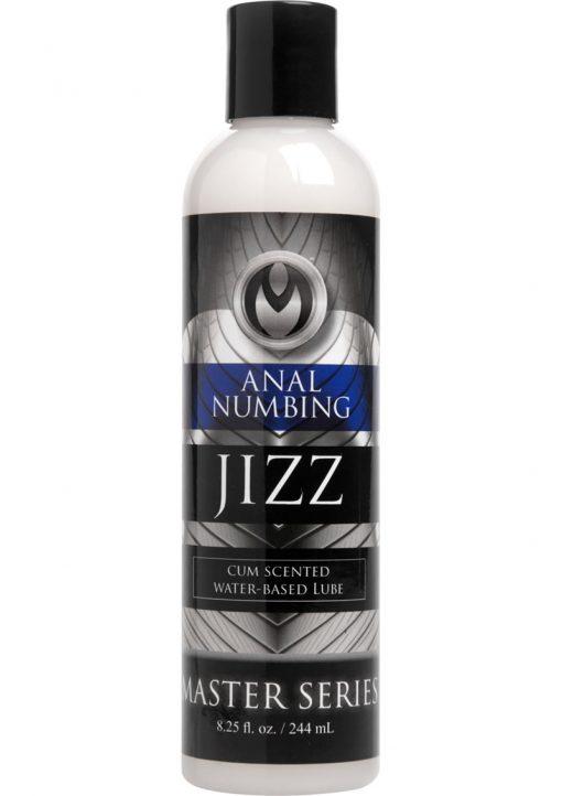 Master Series Jizz Cum Scented Numbing Lube 8.5oz.