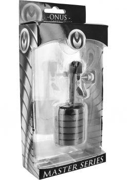 Master Series Onus nipple Clamp Magnet Weights Black