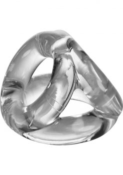 Atomic Jock Tri Sport Cock Ring Clear
