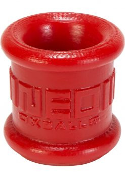 Oxballs Neo-Stretch Silicone Tall Ball Stretcher Red