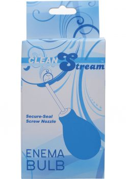 Clean Stream Enema Bulb Blue 8 Ounce