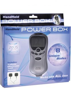 Zeus Handheld 8 Mode Digital Electro Stim Power Box