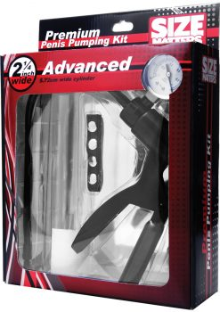 Size Matters Advanced Penis Pump Kit 2.25 Inch Wide