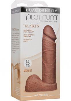 Platinum Truskyn Tru Ride Silicone Brown 8 Inch