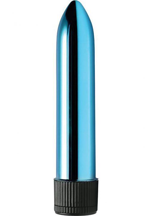 Trinity Vibes Shimmer Slim Vibe Waterproof Blue 5 Inch