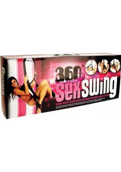 360 Trinity Spinning Sex Swing Packaged  Black