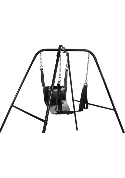Trinity Vibes Ultimate Sex Swing Stand Black