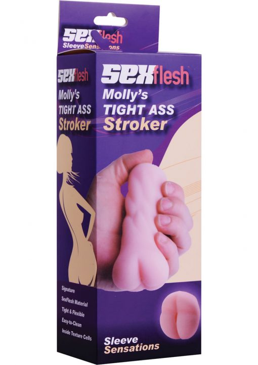 Sex Flesh Molly`s Tight Ass Mini Stroker Flesh 5 Inch