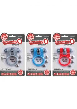 Sport Vibrating Cockring Waterproof Assorted Colors 6 Each Per Box