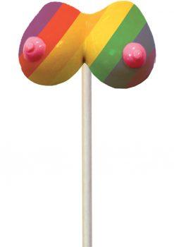 Rainbow Boobie Candy Pop