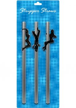 Stripper Straws Female 3 Each Per Pack