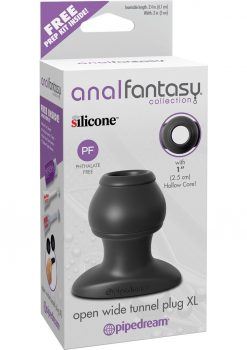 Anal Fantasy Collection Open Wide Silicone Tunnel Plug