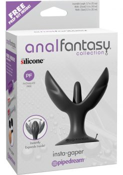 Anal Fantasy Collection Insta-Gapper Silicone Plug Expander