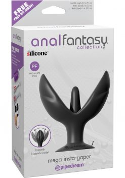 Anal Fantasy Collection Mega Insta-Gapper Silicone Plug Expander 3.7 Inch