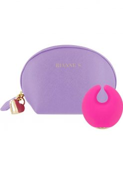 Rianne S Moon Rechargeable Silicone Clitoral Stimulator Waterproof French Rose