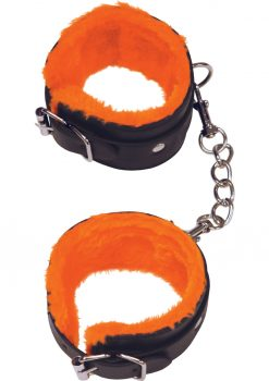 Orange Is The New Black Furry Love Cuffs Adjustable Wrist Cuffs