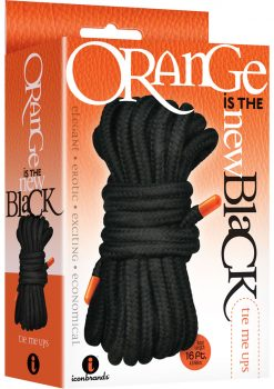 Orange Is The New Black Tie Me Ups Rope 16 Foot
