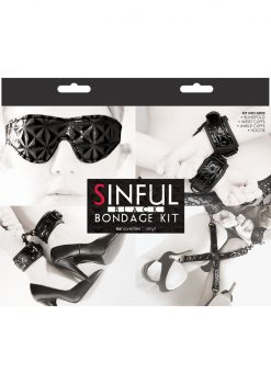 Sinful Bondage Vinyl Kit Black