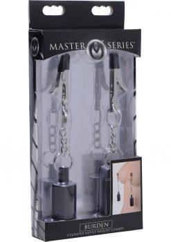 Master Series Burden Cylinder Metal Nipple Weight Clamps