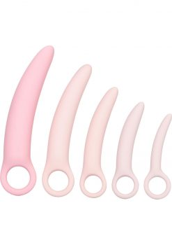 Inspire Silicone Dilator Kit Pink 5 Piece Set