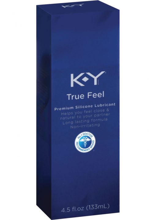 KY True Feel Premium Silicone Lubricant 4.5 Ounce