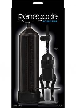 Renegade Bolero Pump Acrylic - Black