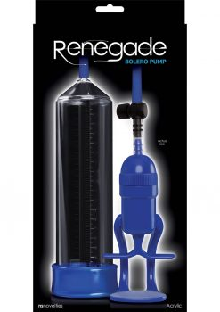 Renegade Bolero Pump Acrylic - Blue