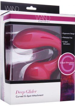 Wand Essentials Deep Glider Curved G Spot Wand Attachment