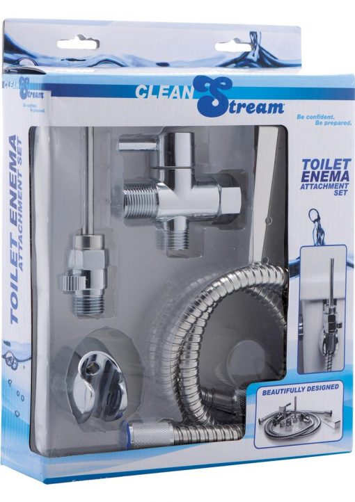 Cleanstream Toilet Enema Attach Set