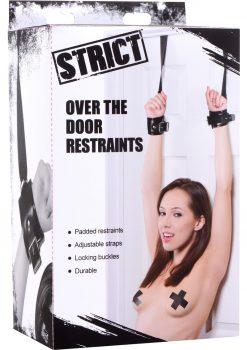 Strict Over The Door Restraints Black