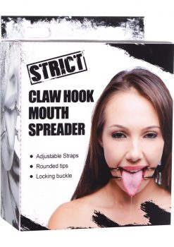 Strict Claw Hook Mouth Spreader Black