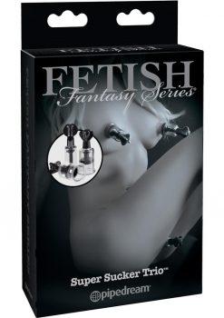 Fetish Fantasy Series Limited Edition Super Sucker Trio Black
