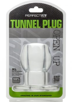 Perfect Fit Tunnel Plug XL - Clear