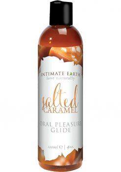 Intimate Earth Oral Pleasure Glide Salted Caramel 4oz