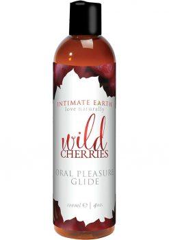 Intimate Earth Oral Pleasure Glide Wild Cherries 4oz