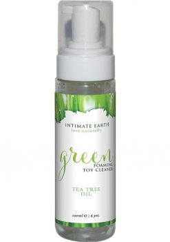 Intimate Earth Green Foaming Toy Cleaner Tea Tree Oil 6.3oz