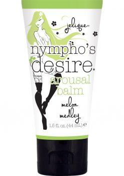 Jelique Nympho`s Desire Arousal Balm Melon Medley 1.5 Ounce Tube