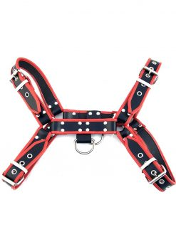 Rouge OTH Leather Front Harness Adjustable Black And Red